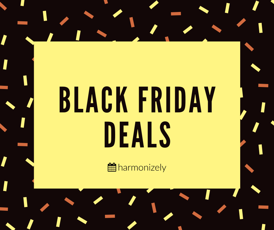 Black Friday & Cyber Monday 2019 SaaS Deals