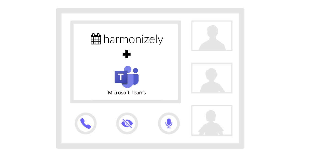 Automatically add Microsoft Teams video conference details to any Harmonizely meeting
